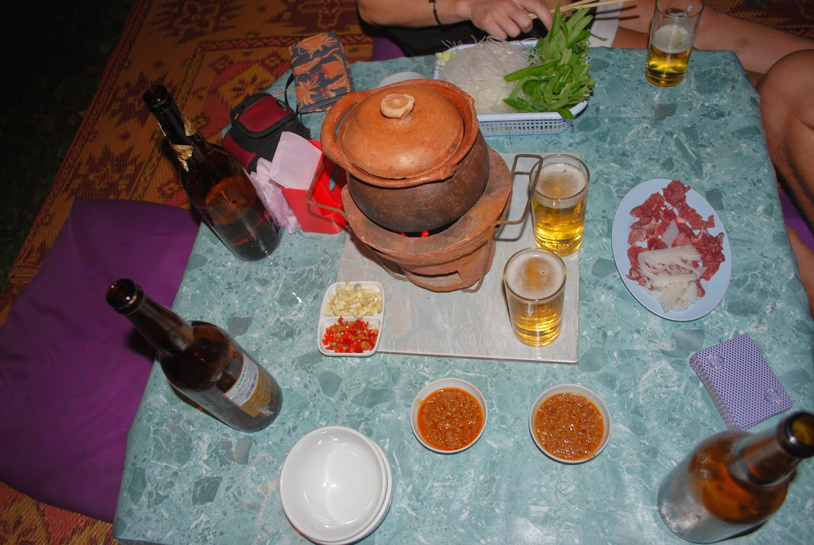 Vientiane-Laos-night-market-food