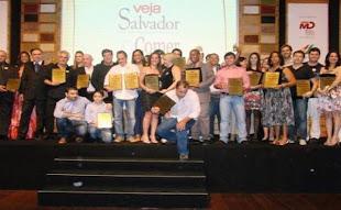 Veja Salvador premia os melhores na gastronomia