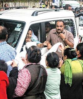 Mamata Banerjee in Darjeeling