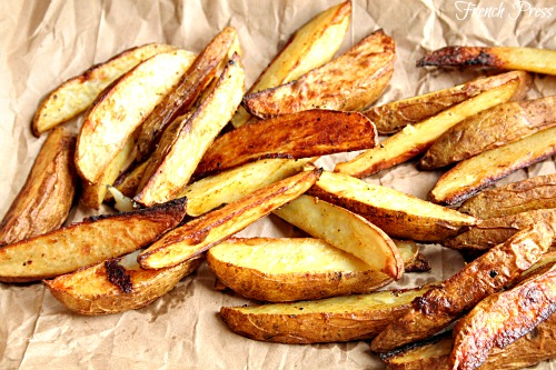 Oven Roasted French Fries - Heather's French Press