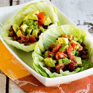 Spicy Tofu Lettuce Wrap Tacos (Low-Carb, Vegan, Gluten-Free) | Kalyn's ...