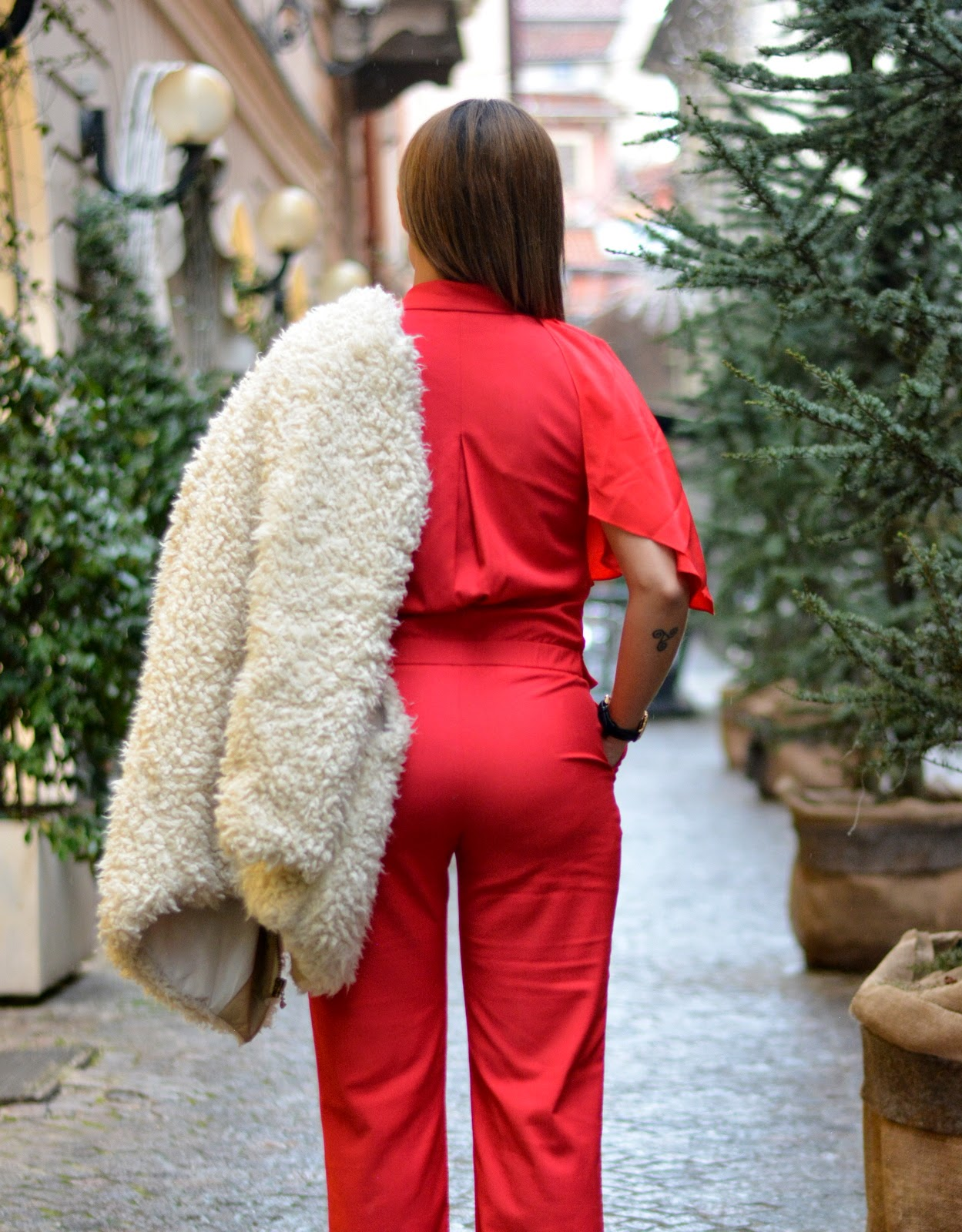 G2G , Jumpsuit red , Fashion Blogger , Jessica Neumann , Outfit