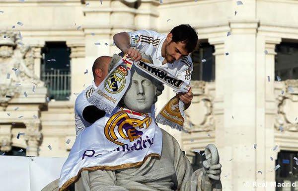Iker Casillas Cibeles