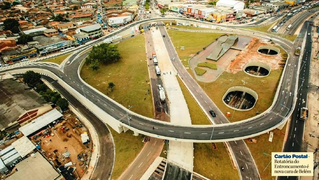 Super meia dois nove: Complexo Viário do Entroncamento - Belém, Pará CP79