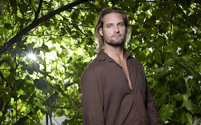 Josh Holloway from Lost Between Leaves HD Desktop Wallpaper