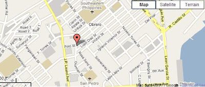 Palma gil davao city map
