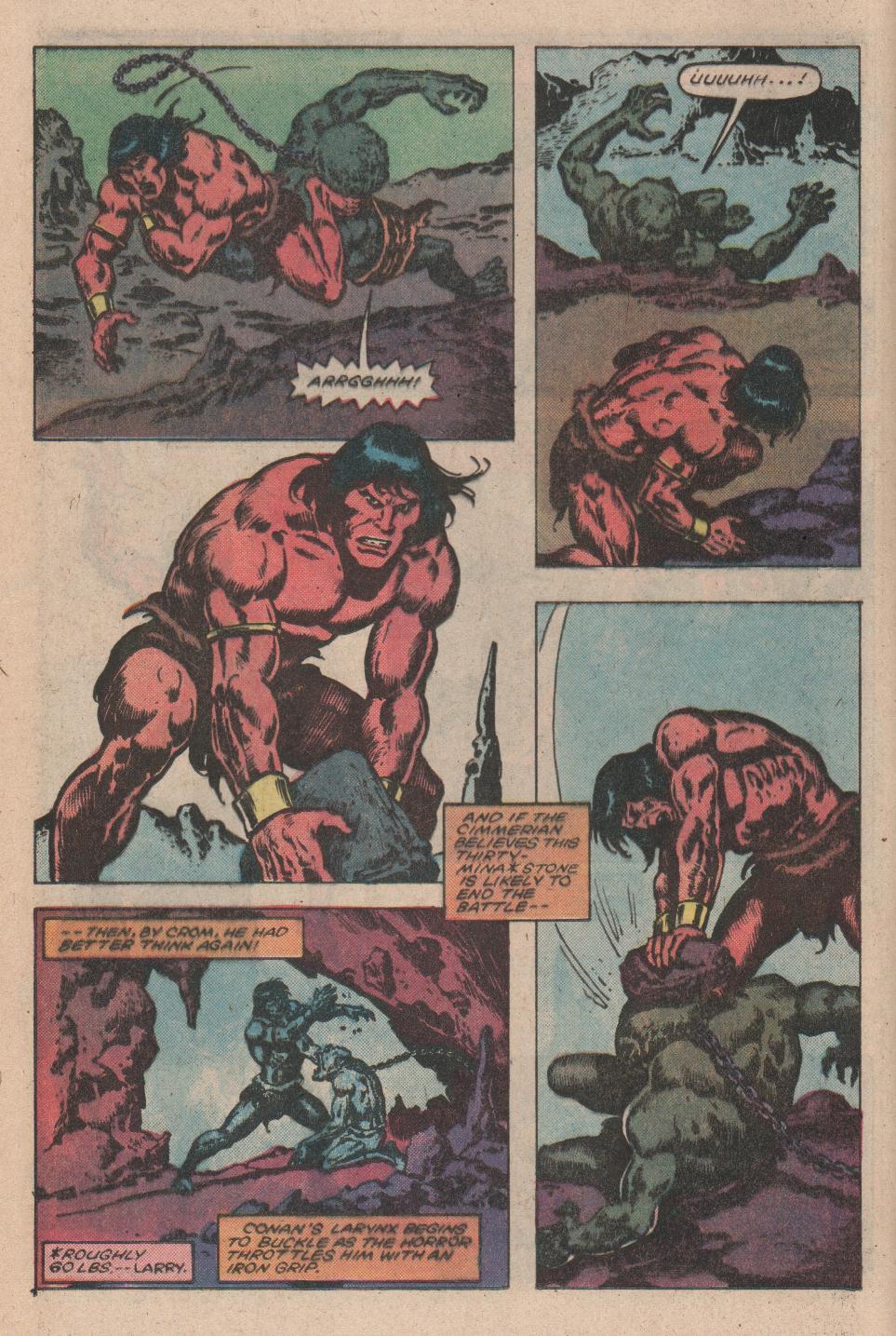 Conan the Barbarian (1970) Issue #156 #168 - English 12
