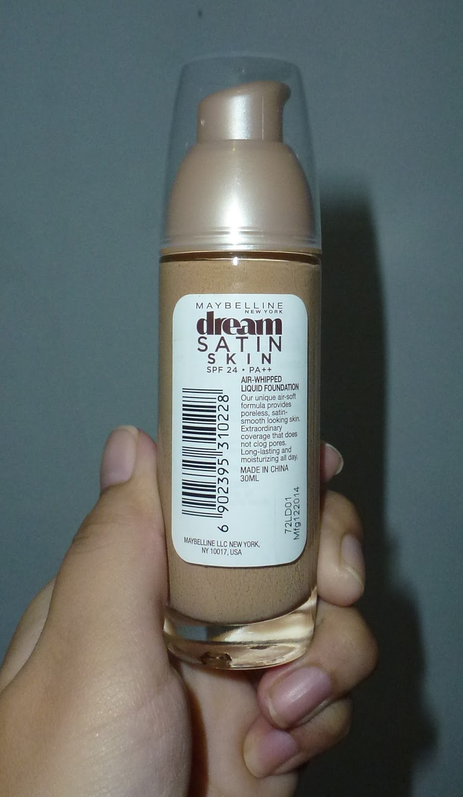 Review: Maybelline Dream Satin Skin Liquid Foundation ...