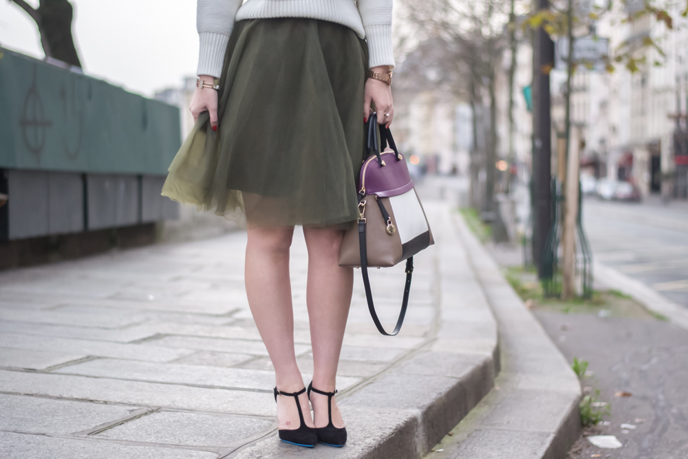 meet me in paree, blogger, fashion, look, tulle skirts, chic parisian style