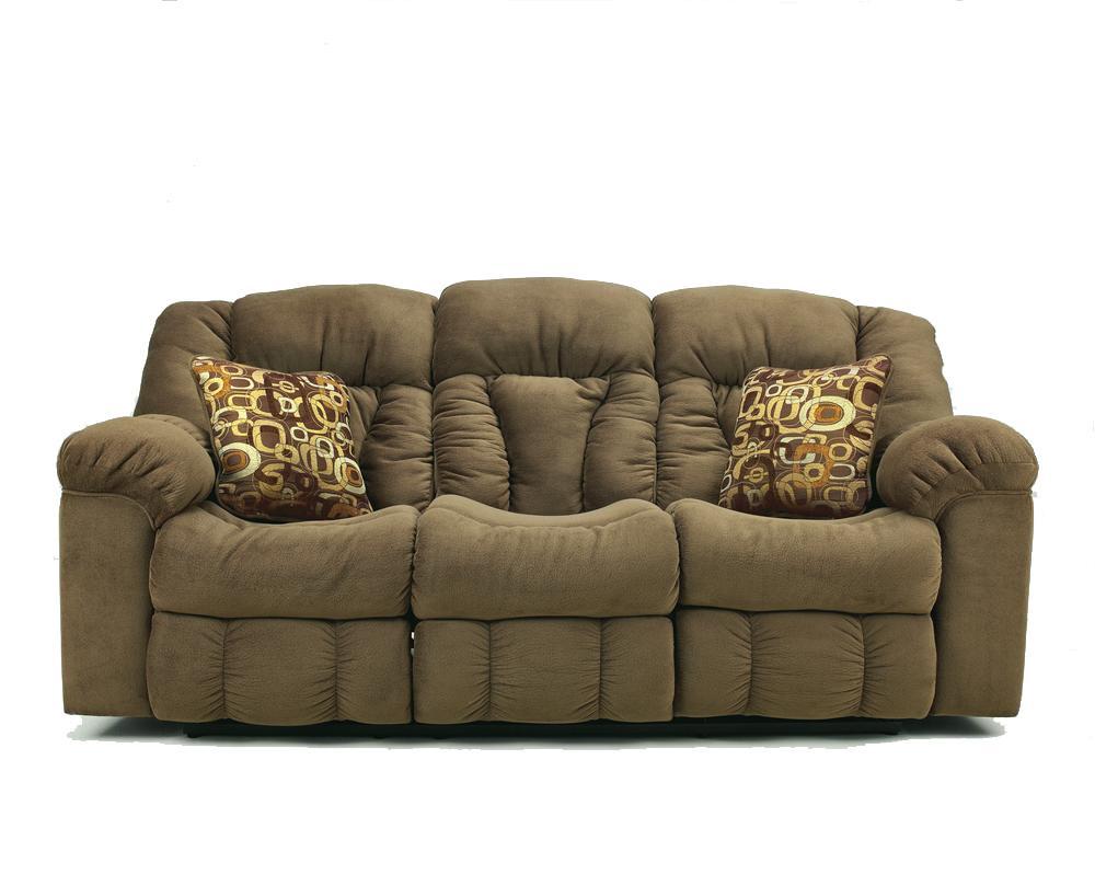 Royal Furniture Outlet Ashley Signature Design Macie 54601 Brown Reclining Living Room Set
