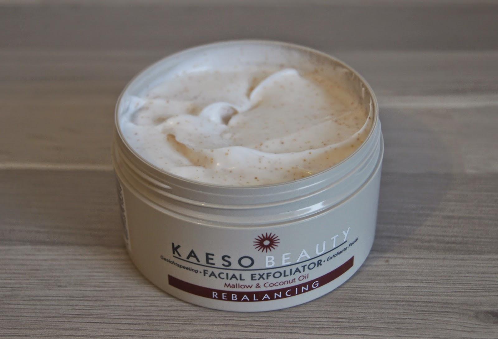 kaeso beauty exfoliator