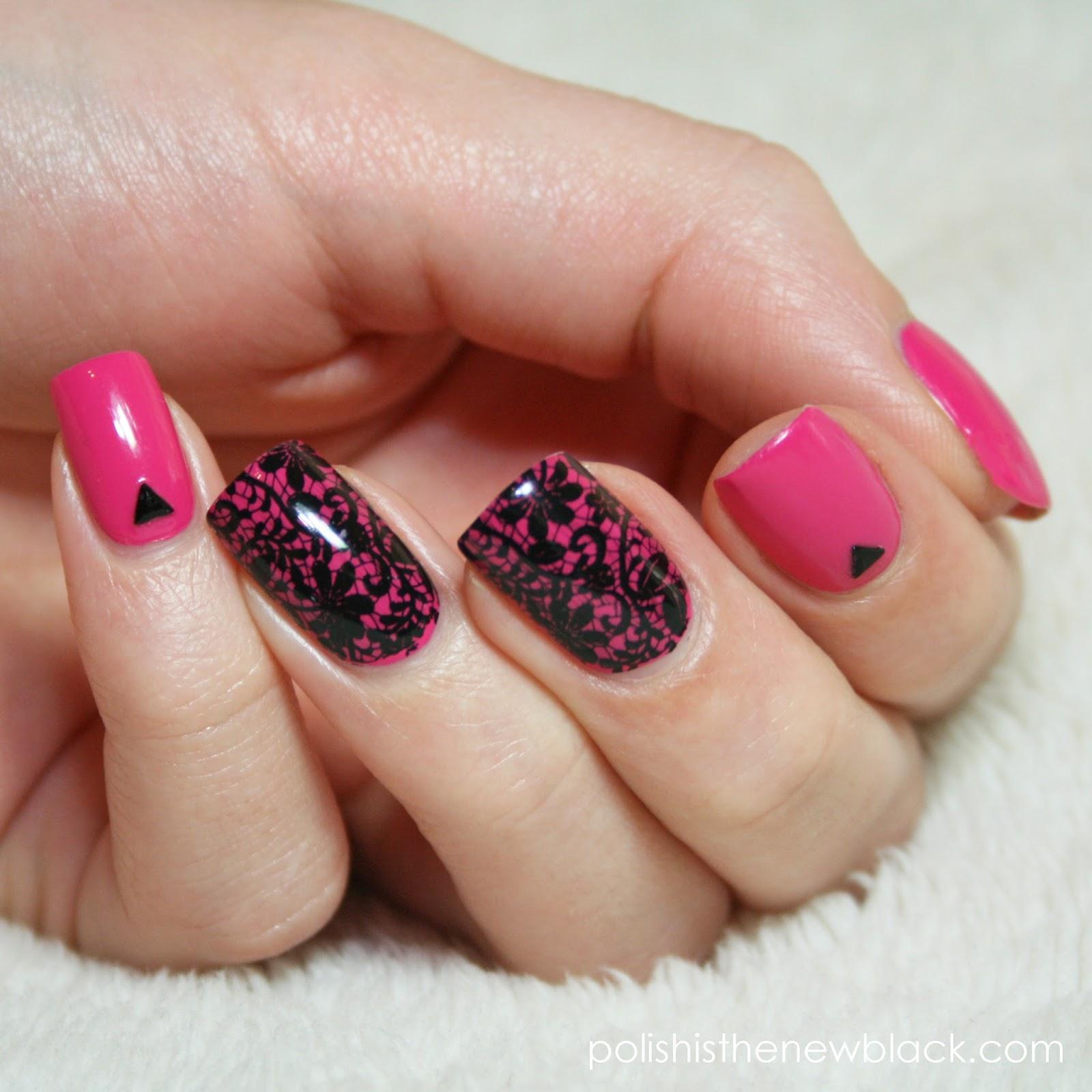 Born Pretty Store Black Stamping Polish: Nail Art & Review / Polish ...