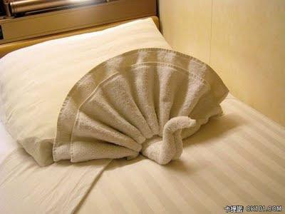 Seni Origami Dari Handuk