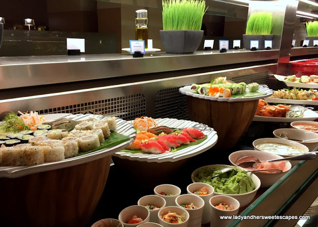 Japanese Food at Ginger in Park Rotana