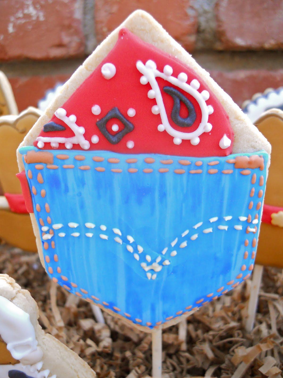 Little Denim Jean Cake Pops