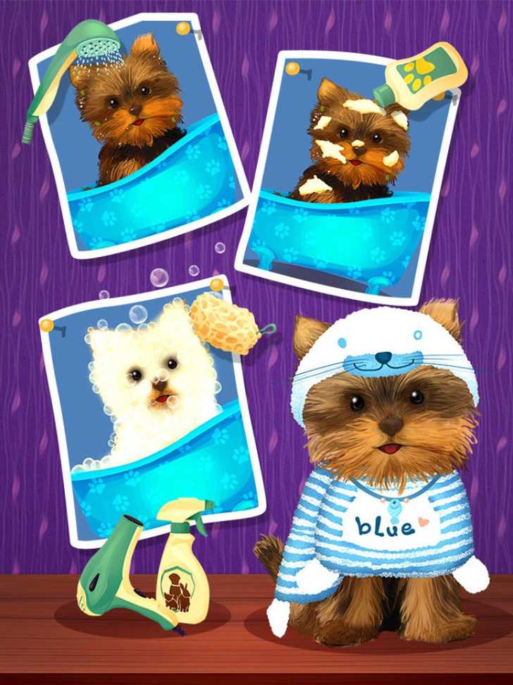 Little Pet Salon App iTunes App By Bear Hug Media - FreeApps.ws