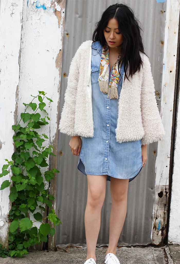 vintage fashion ootd 2