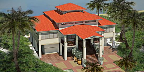 Luxury beachfront homes, Barbuda