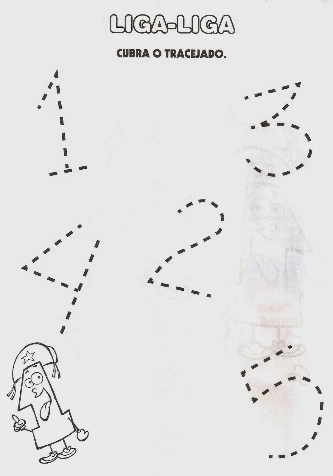 Fabuloso ESPAÇO EDUCAR: Atividades para Educação Infantil com os numerais  HT21