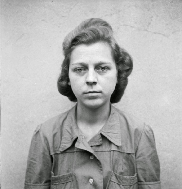 Mugshots Of Female Nazi Concentration Camp Guards While
