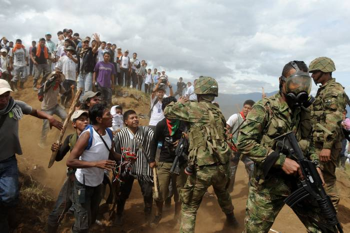 Preocupa situación en Colombia y otros países de América Latina