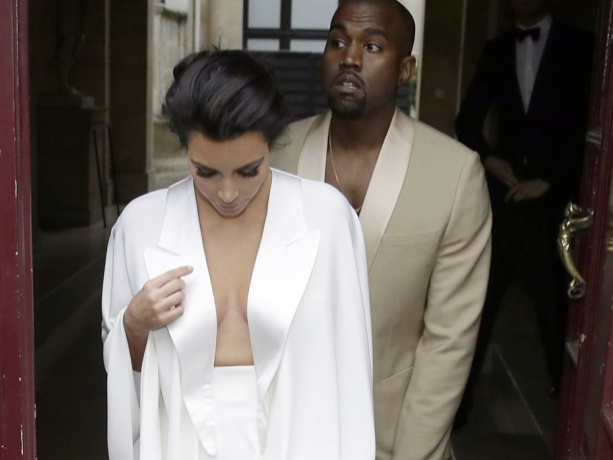 Kim Kardashian, Kim Kardashian Wedding, Kanye West