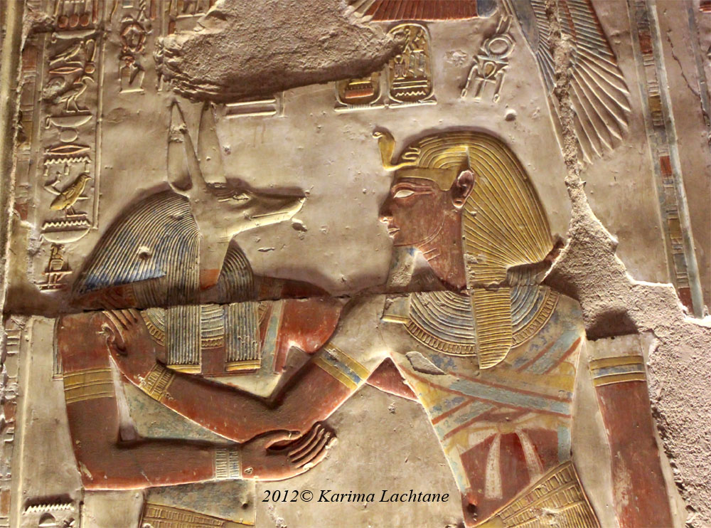 Mysteries of ancient Egypt, Seti and Duamutef