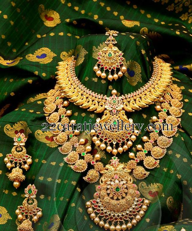Antique Bridal jewellery Collection - Jewellery Designs