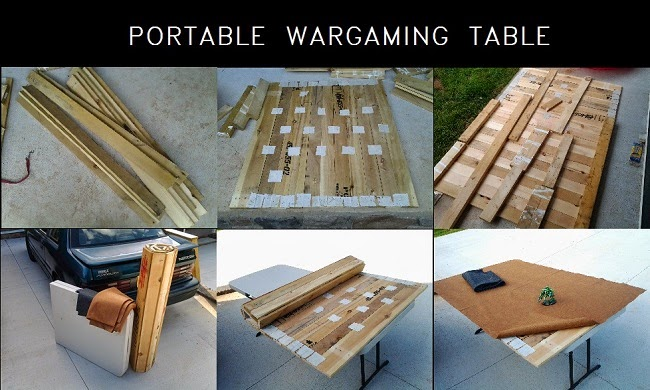 DIY Homemade Portable Wargaming Table