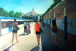 Estación de Lago (Obra de Consuelo Hernández)