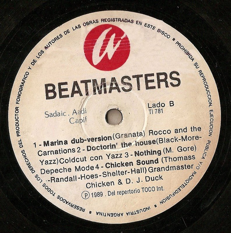 Beatmasters  (Missing Album)