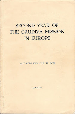 Second Year of the Gaudiya Mission in Europe