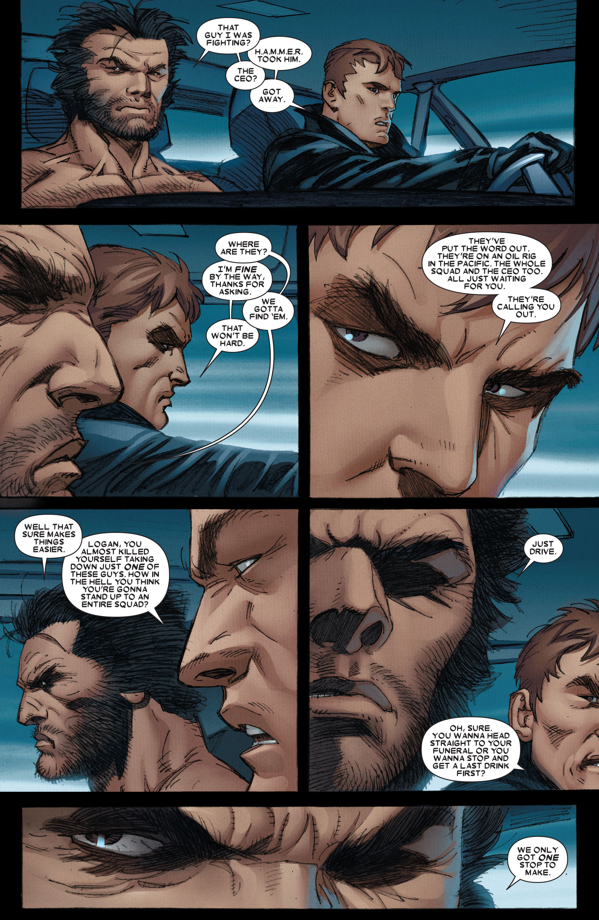 Wolverine: Weapon X #5 #12 - English 6