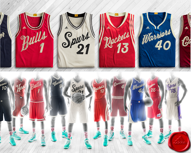 Esta Navidad se llevará lo retro en la NBA