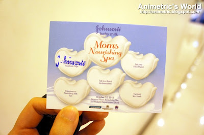 Johnson's Baby Milk Mom's Nourishing Spa at Watson's Makati