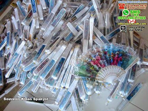 Souvenir Kipas Spanyol Plastik Yogyakarta