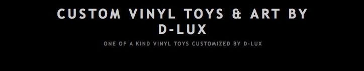 Custom vinyl toys by delux