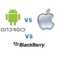 Android vs BB vs iPhone, Windows 8, BlackBerry, Symbian