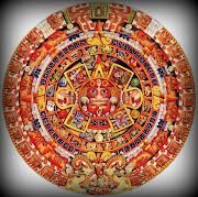 MéxicoBANDERA y LEYENDAS (calendario maya)
