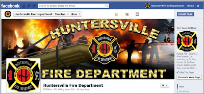 Huntersville Fire Department Facebook Page