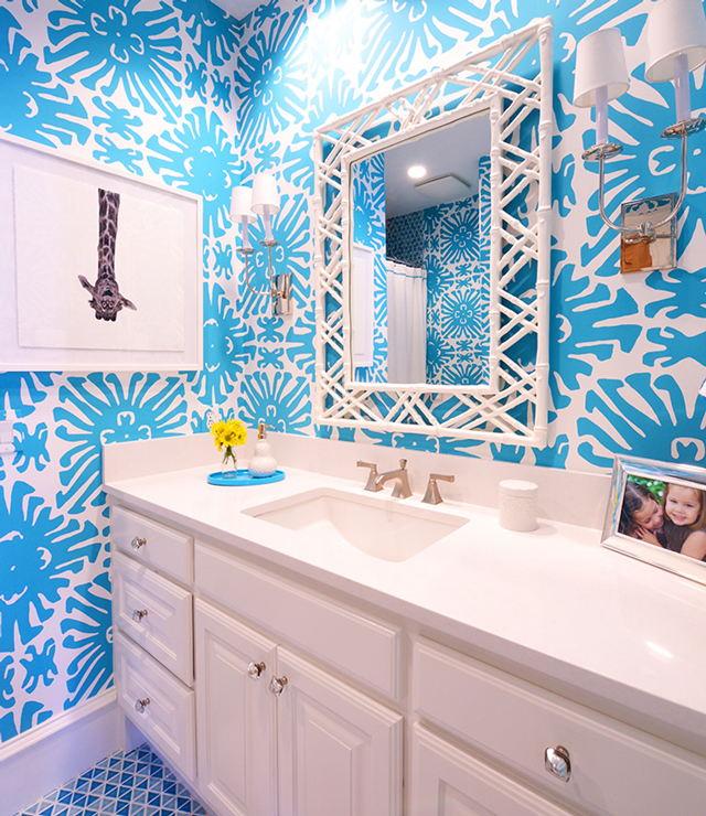 I Cant Get Enough Of This Gorgeous Sigourney Wallpaper Especially In French Blue