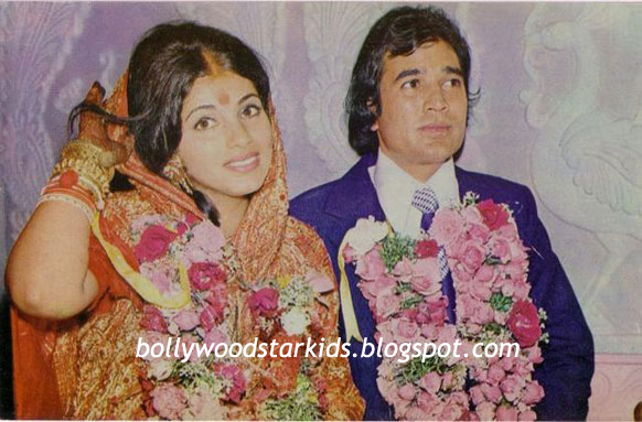 Bollywood Star Kids: Pictures of Rajesh Khanna With His ...