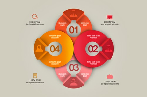 Create a Creative Round Infographic In Photoshop