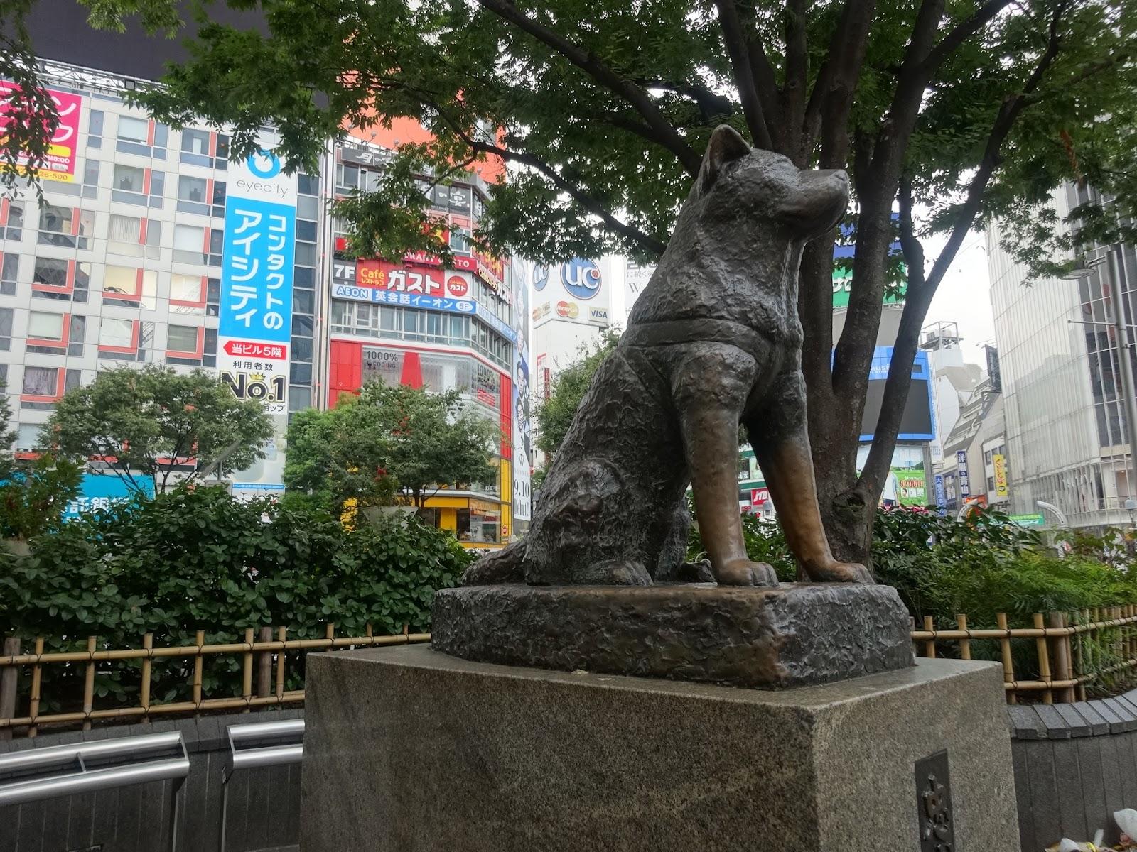 渋谷ハチ公,犬,銅像〈著作権フリー画像〉Free Stock Photos