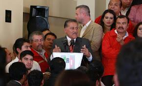 Siempre en busca del bienestar social, el PRI construye alianzas inteligentes: Zamora Jiménez