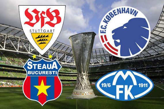 Steaua Stuttgart Europa League 2012 live online
