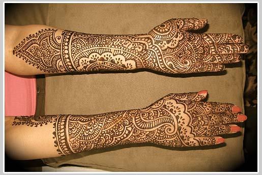 Gorgeous Bridal Mehndi Designs : Mehndi designs for hands : indian bridal