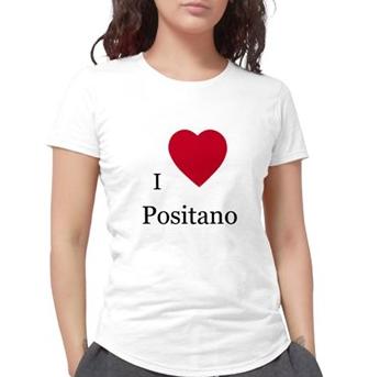 """I LOVE POSITANO""  T-SHRT"