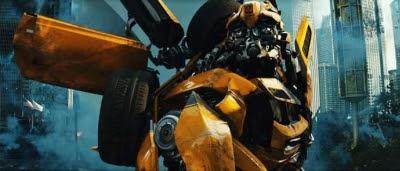 Bumblebee dans Transformers 3 : La Face cachée de la Lune