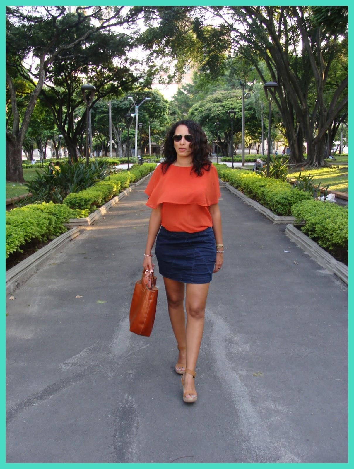 Mi moda combinar el color naranja con - Combinar color naranja paredes ...